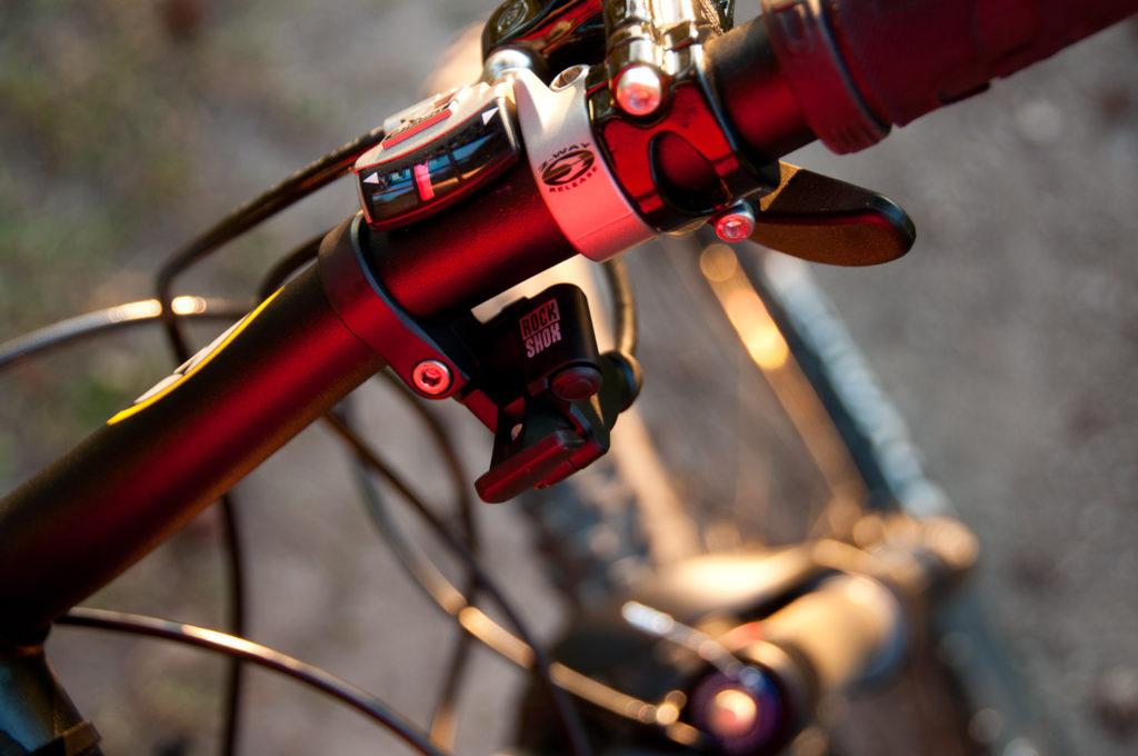 Mit dem Mountain Bike bei 'ner Feierabendrunde