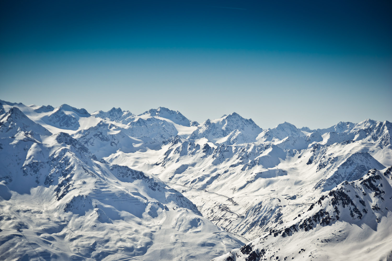 Die Gletscherstraße in Sölden