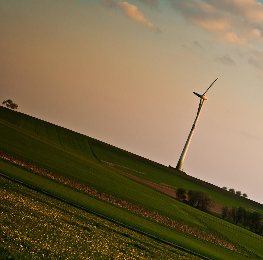 Schnappschuss: Das Windrad in Kasberg