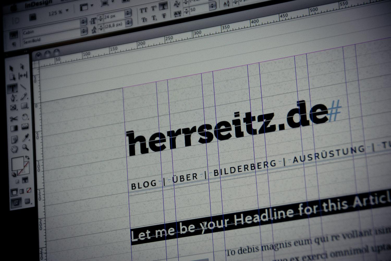 Blogdesign: Wie herrseitz.de entstand