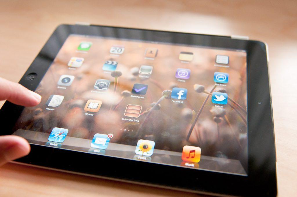 Mein iPad 2 direkt nach dem Update auf iOS 5