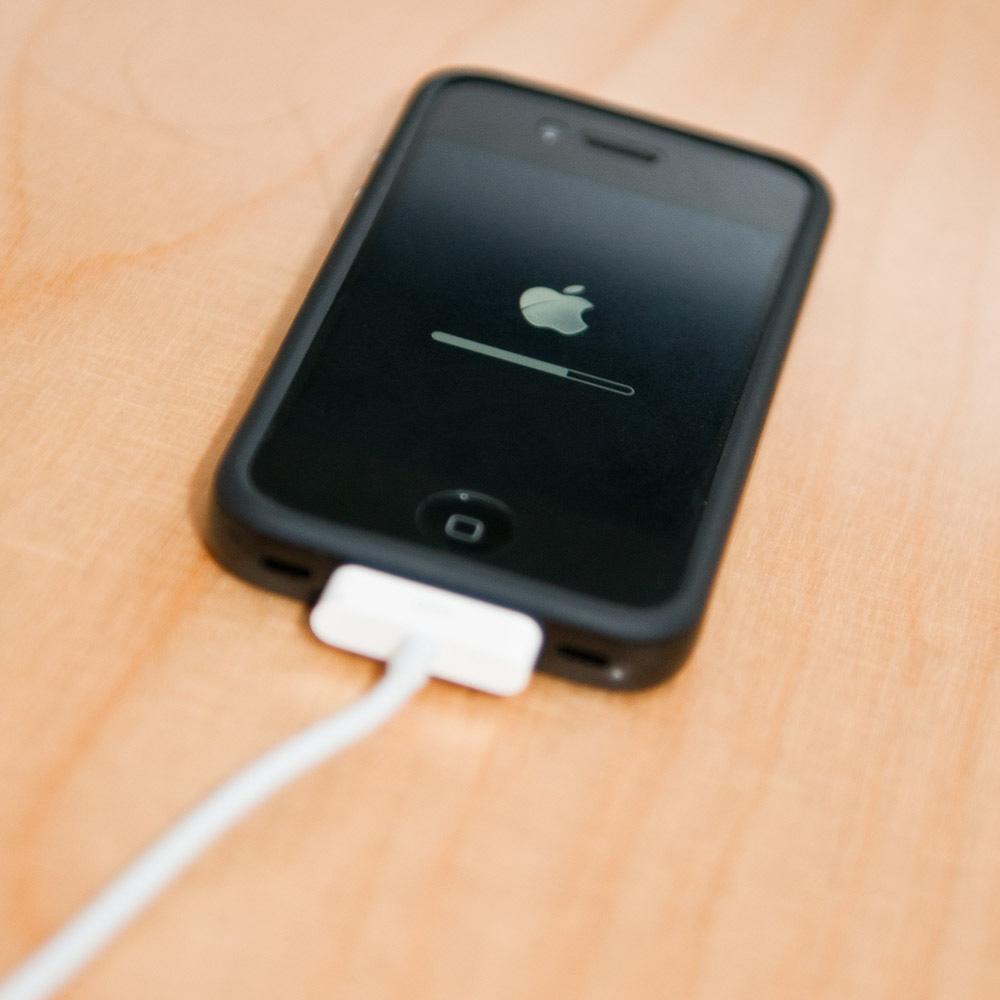 Übertragung des iOS 5 auf das iPhone 4