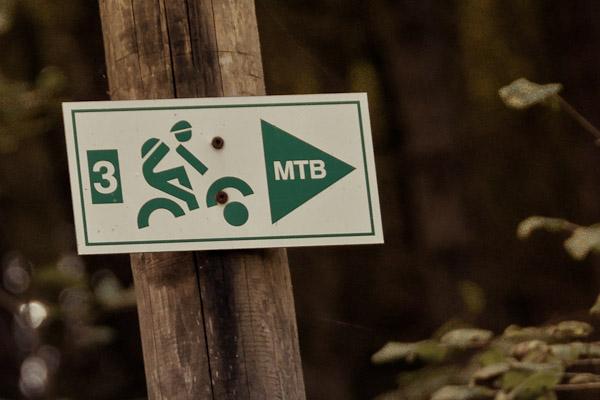 Der Streckenwegweiser für die Route MTB3 – Matzenstein – um Heiligenstadt