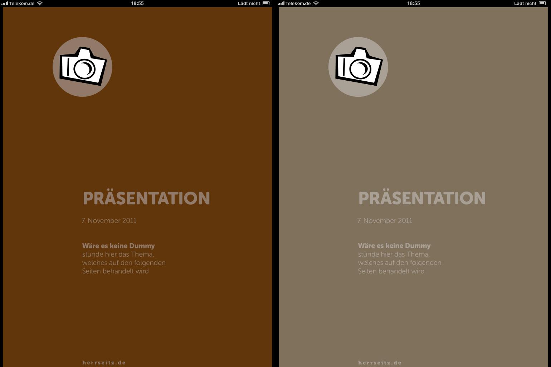 Sonderfarben, CMYK und Farbmanagement am iPad