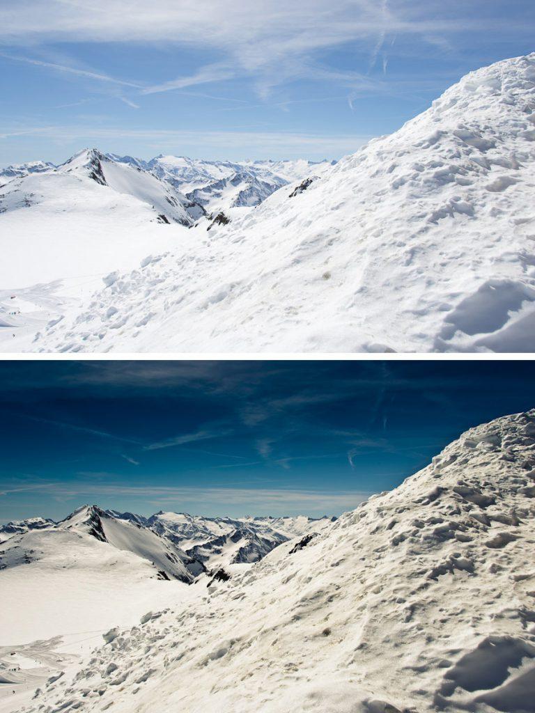 Top of Tyrol – bearbeitet mit Adobe Lightroom