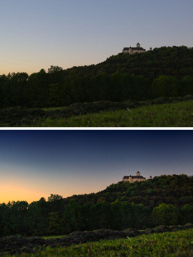 Schloss Greifenstein bei Heiligenstadt in Oberfranken – bearbeitet mit Adobe Lightroom und den NIK Tools
