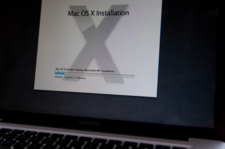 Mein Update auf OS X 10.7 Lion (2)