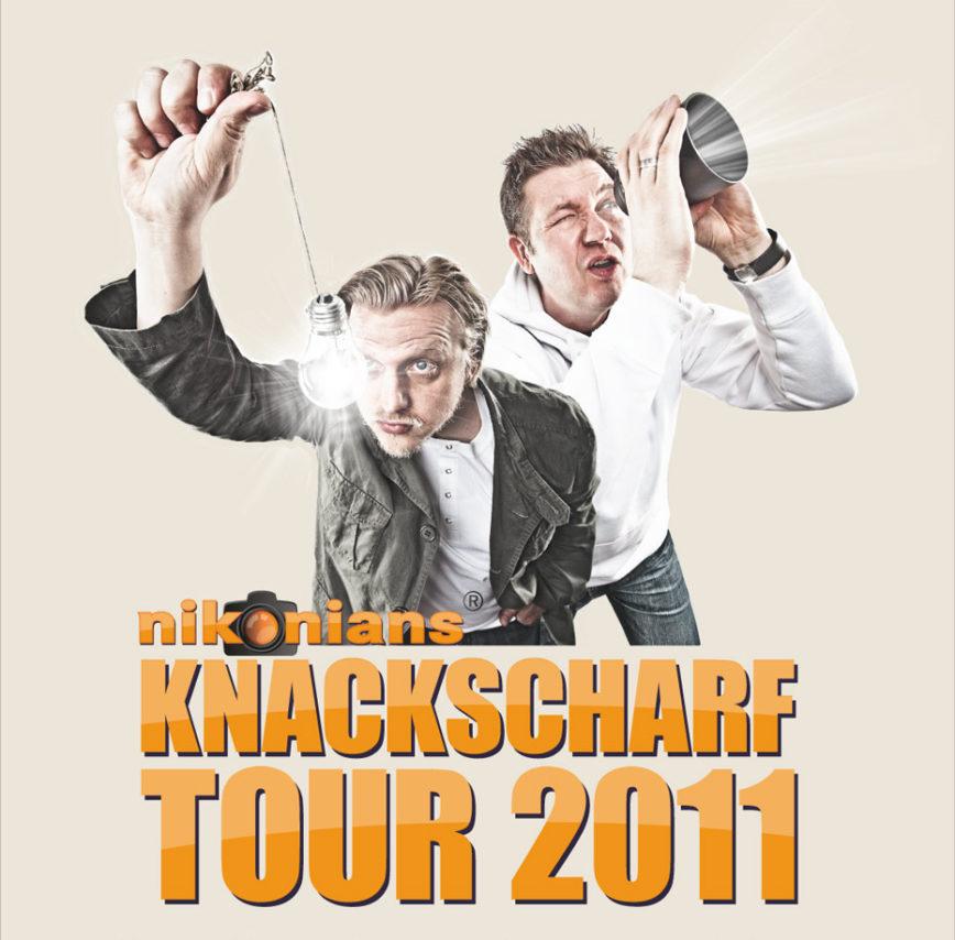 Knackscharf Tour 2011 – Die Jagd nach dem Licht