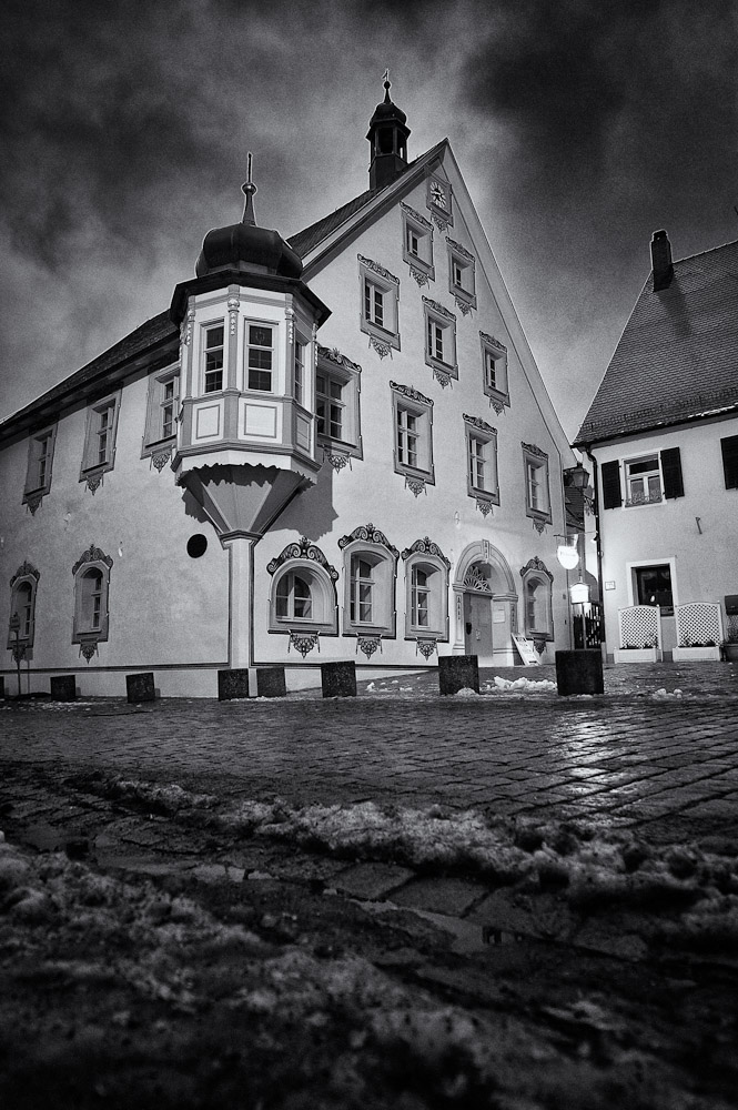 Alternative: Das Rathaus in Gräfenberg