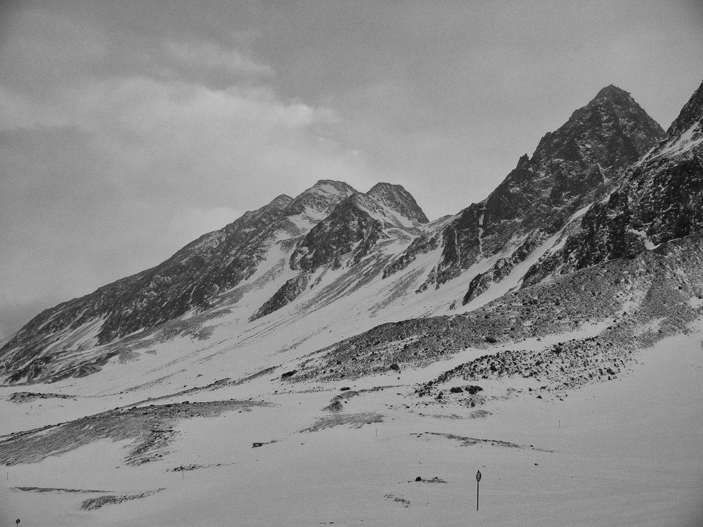 Im Skigebiet Stubaier Gletscher