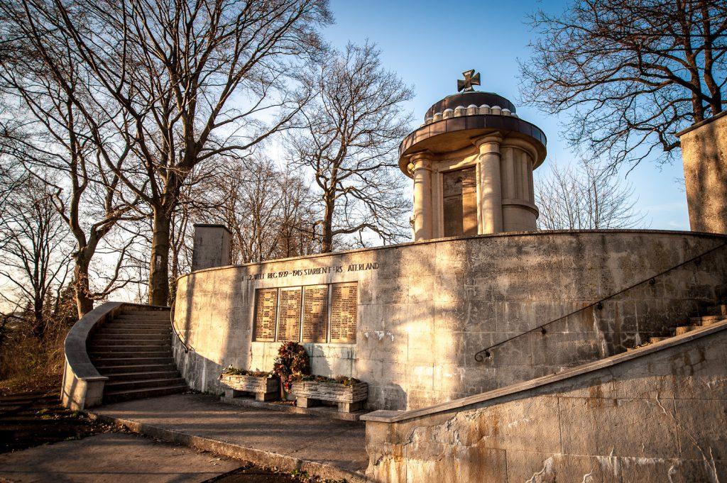 Das Kriegerdenkmal in Gräfenberg