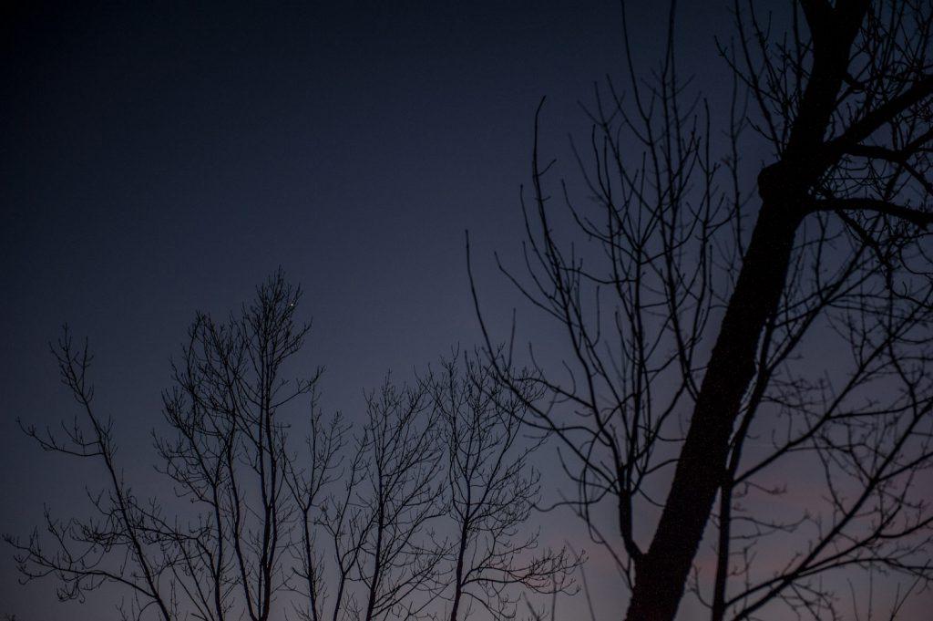 Blick in den Nachthimmel