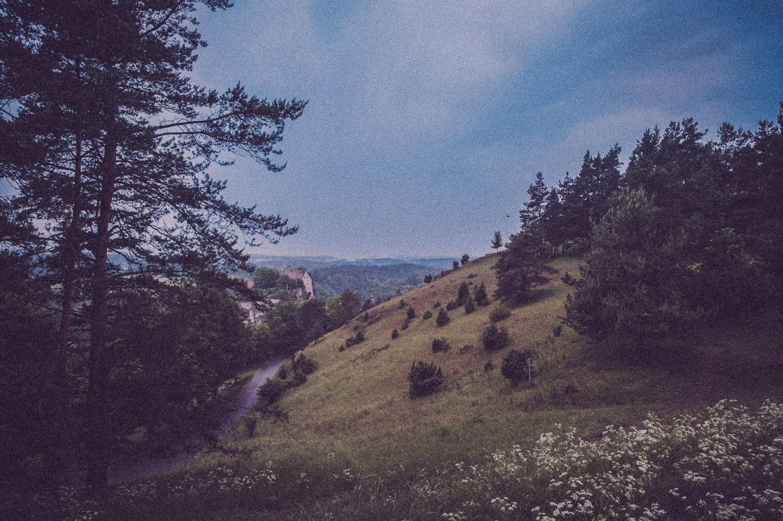 """""""Rainy Evening"""" in Pottenstein"""