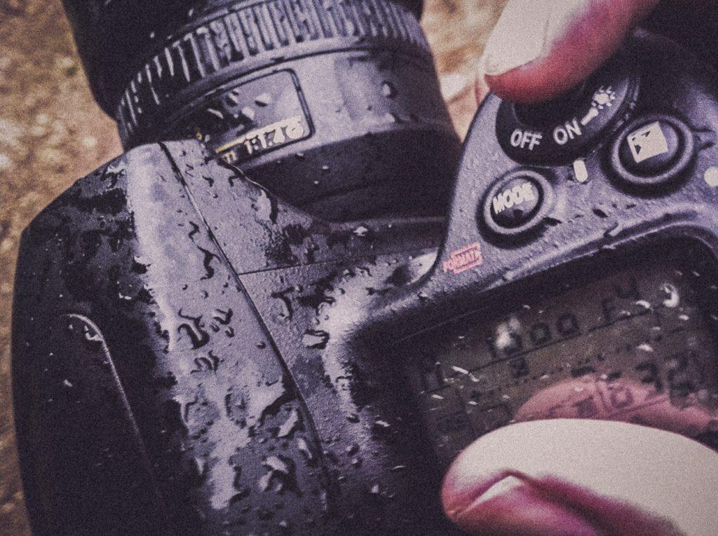 Meine Nikon D700 nach dem Fotowalk