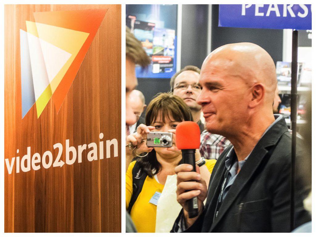 Christoph Sahner, Pressesprecher bei video2brain, erläutert uns die Social Media Aktivitäten von Video2Brain.