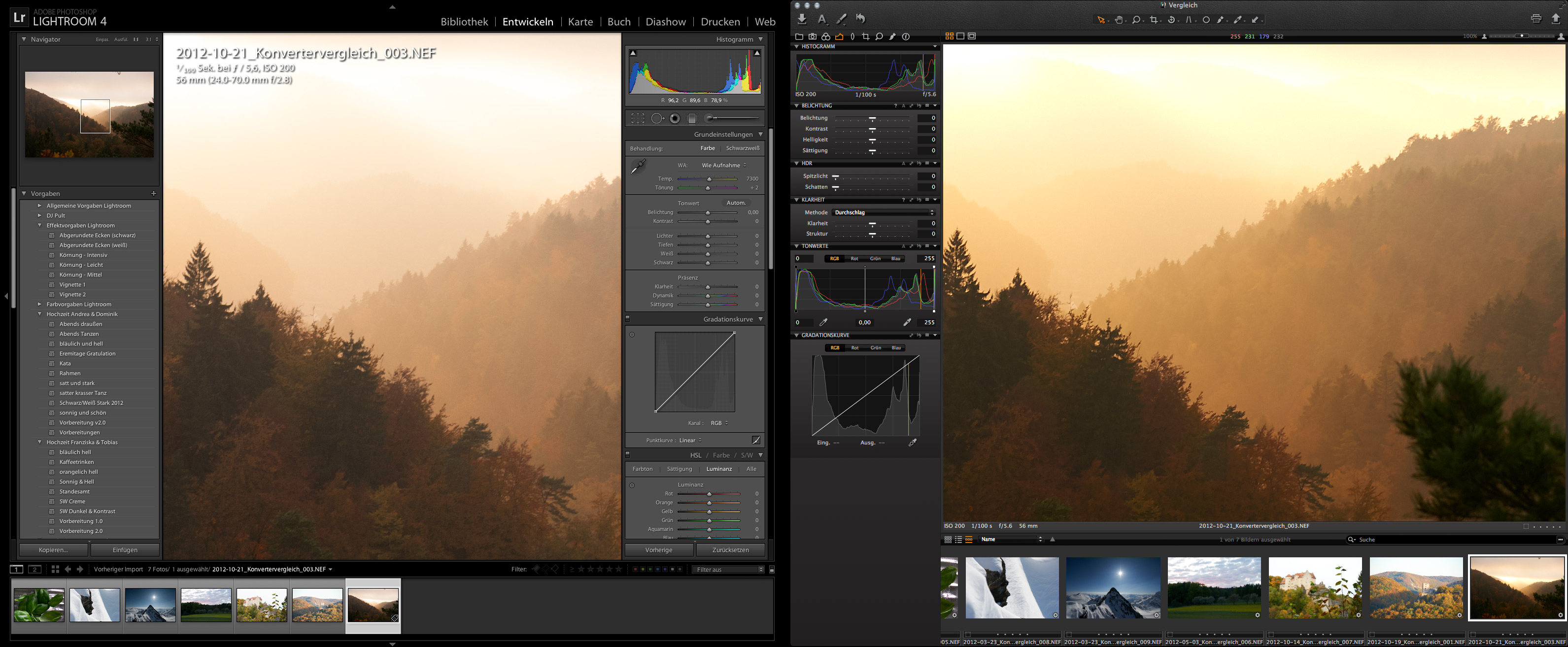 Lightroom vs. Capture One Pro