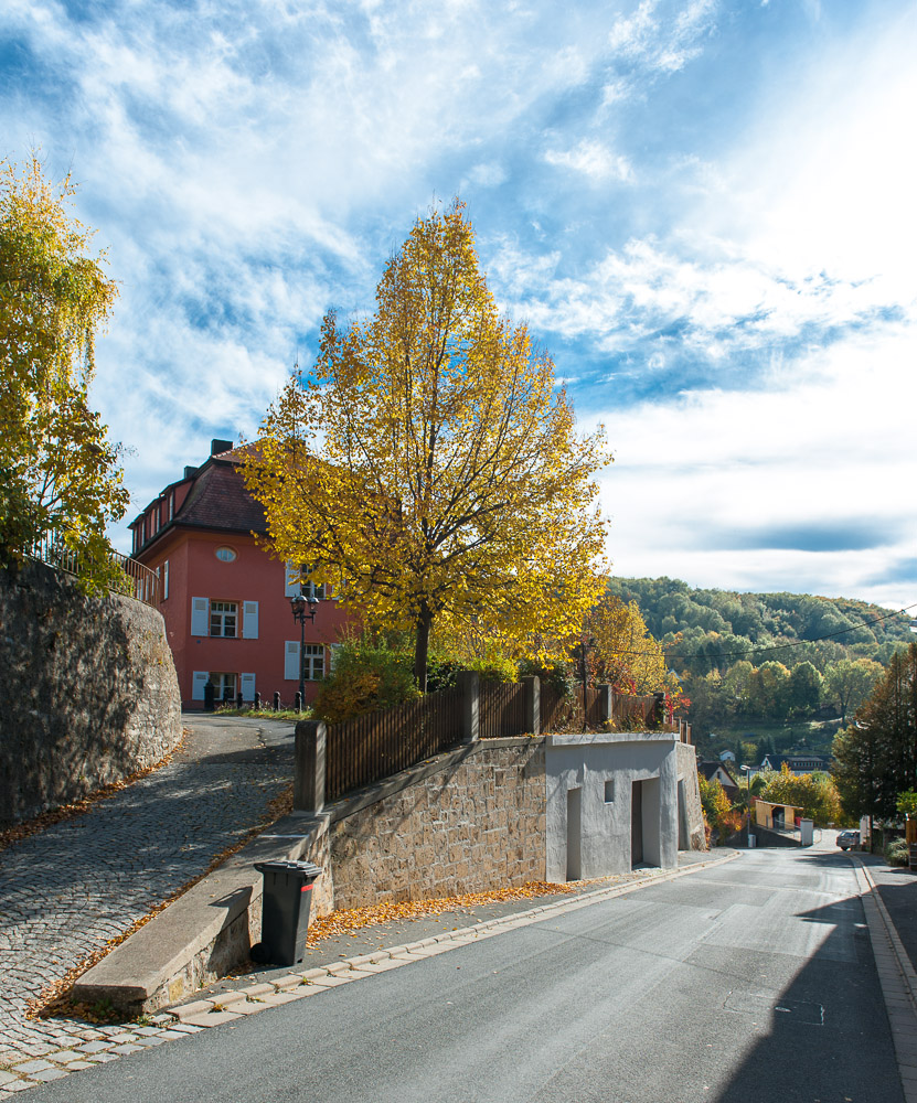 Bahnhofsstraße in Gräfenberg