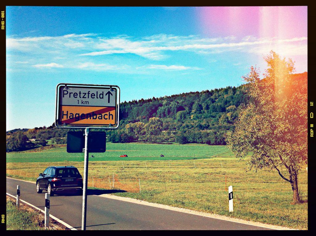 Weiter Richtung Pretzfeld
