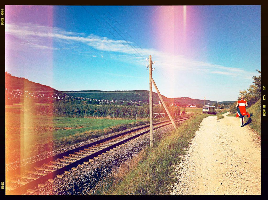 Flurstraße zwischen Pretzfeld und Ebermannstadt