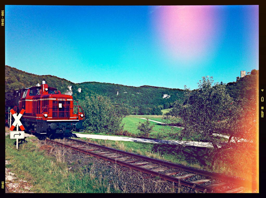 Die Museumsbahn im Wiesenttal
