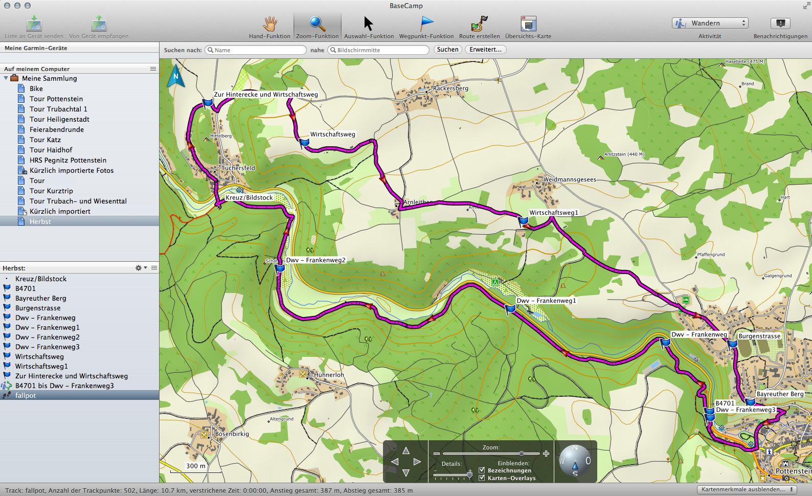Zehn GPS-Programme für Apple Mac OS X