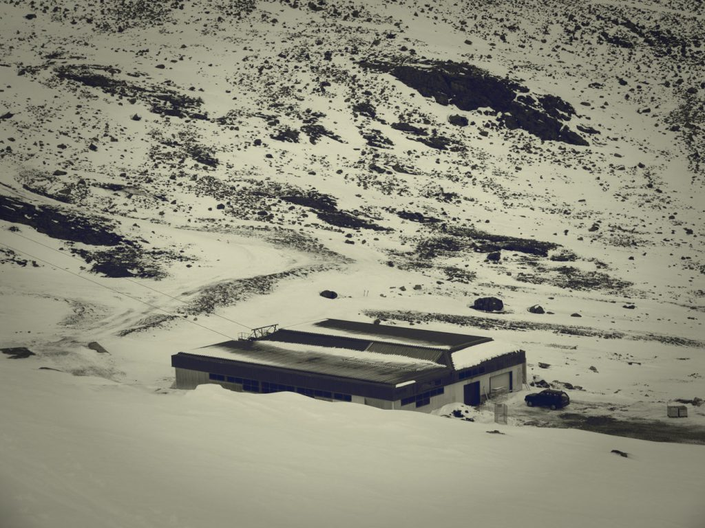 Talstation der neuen 4er Sesselbahn Daunjoch
