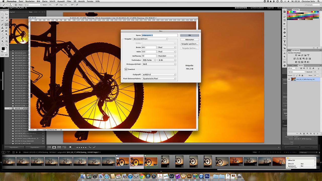 Bildansatz mit Adobe Photoshop