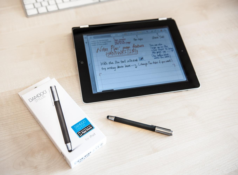Der Wacom Bamboo Stylus für das iPad