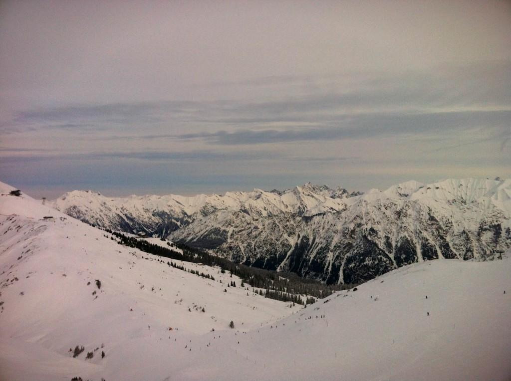 Smartphonephotographie während der Bergscout-Challenge