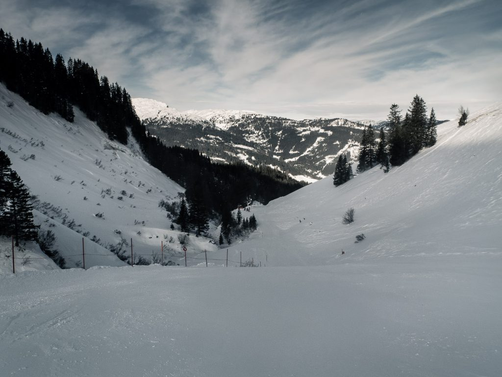 Talblick Richtung Riezlern