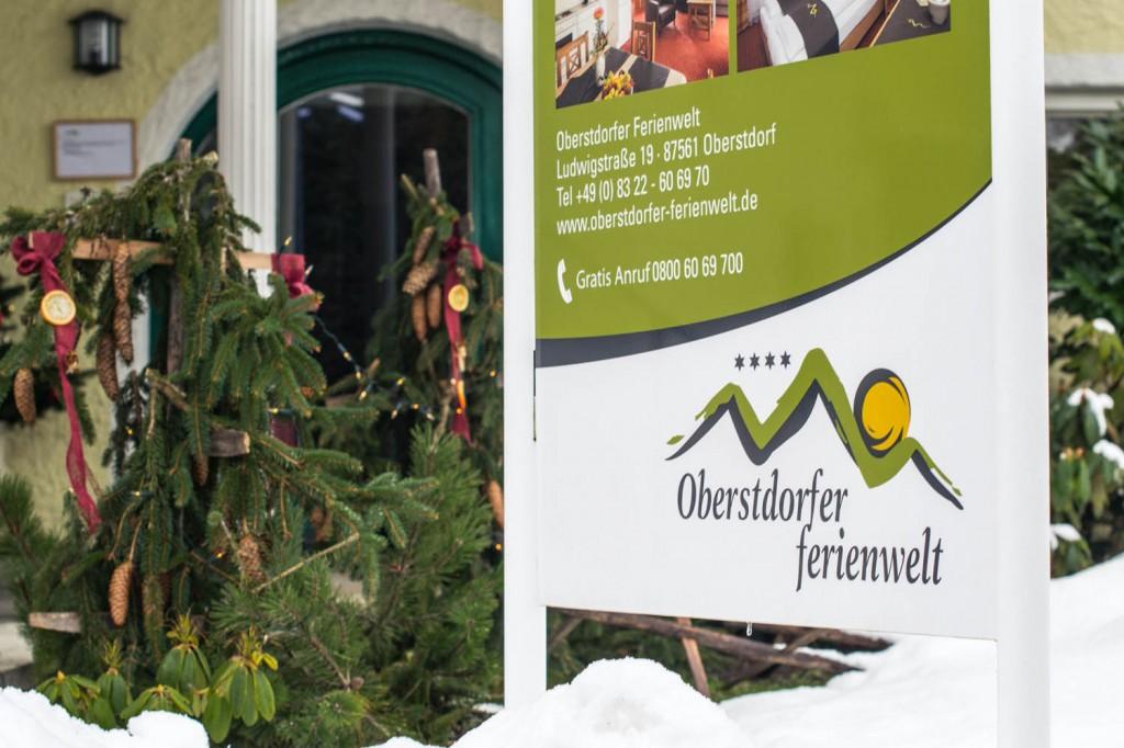 Der Eingang in die Oberstdorfer Ferienwelt