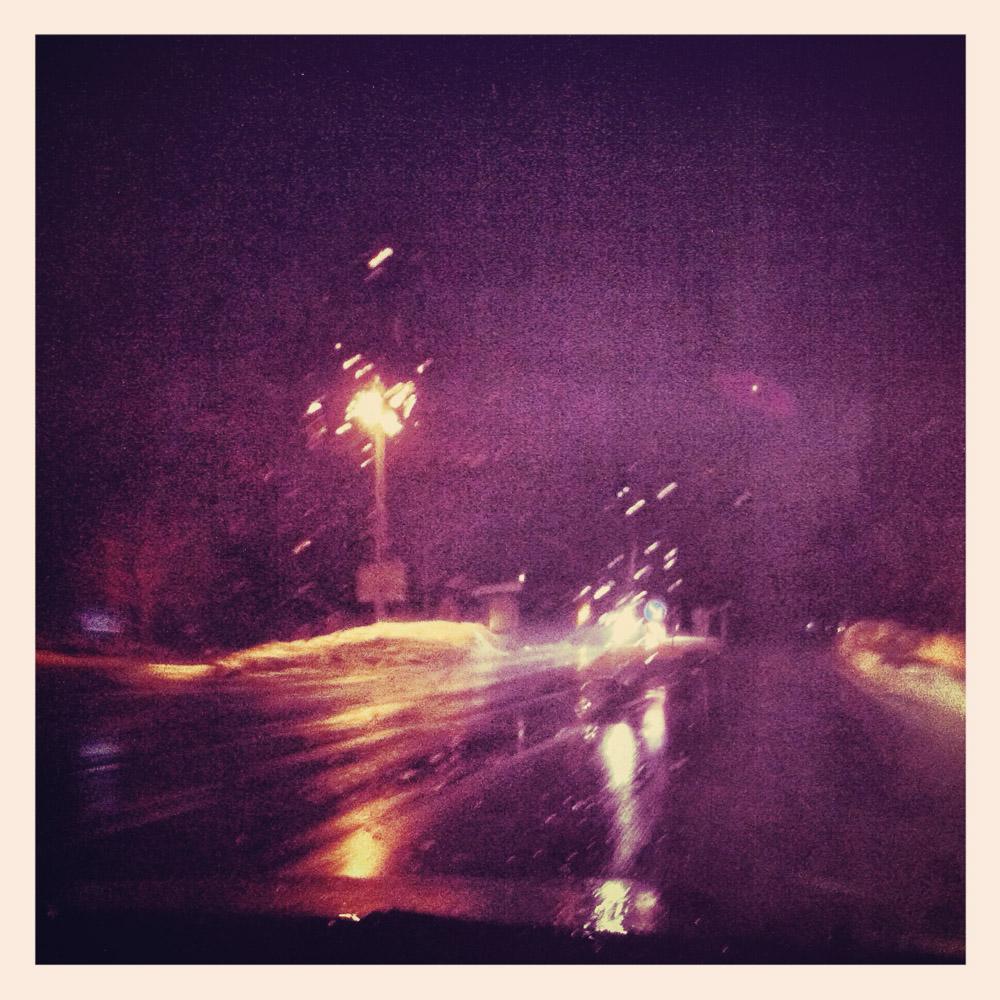 Regen in Oberstdorf