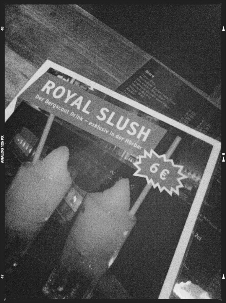 Der Drink zur Bergscout-Challenge: Royal Slush