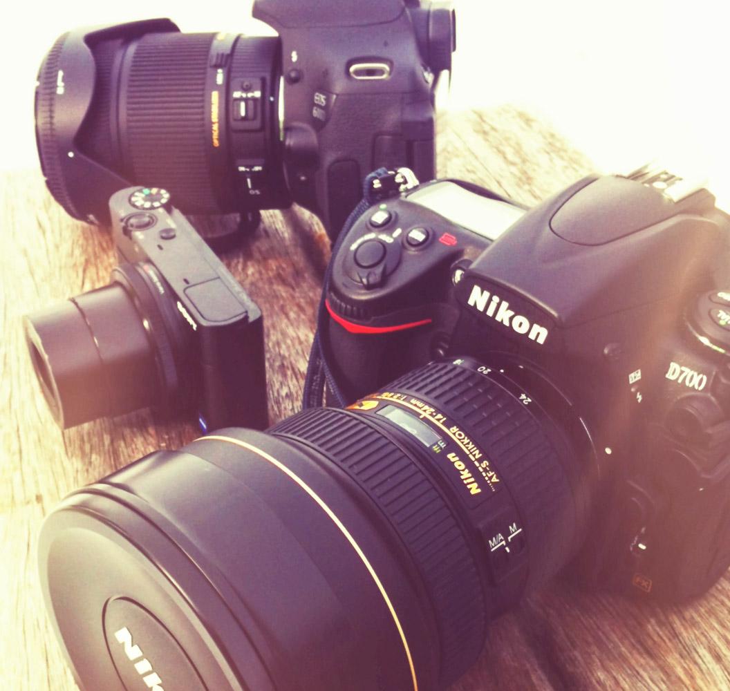 Canon, Nikon und Sony im Vergleich