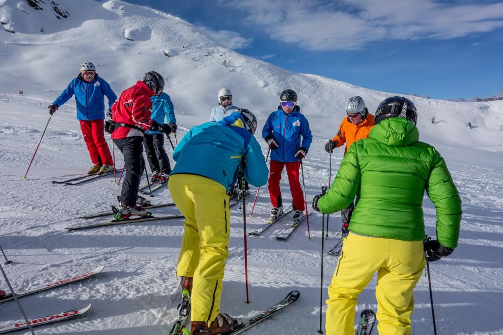 Skikurs in Ratschings/Jaufen