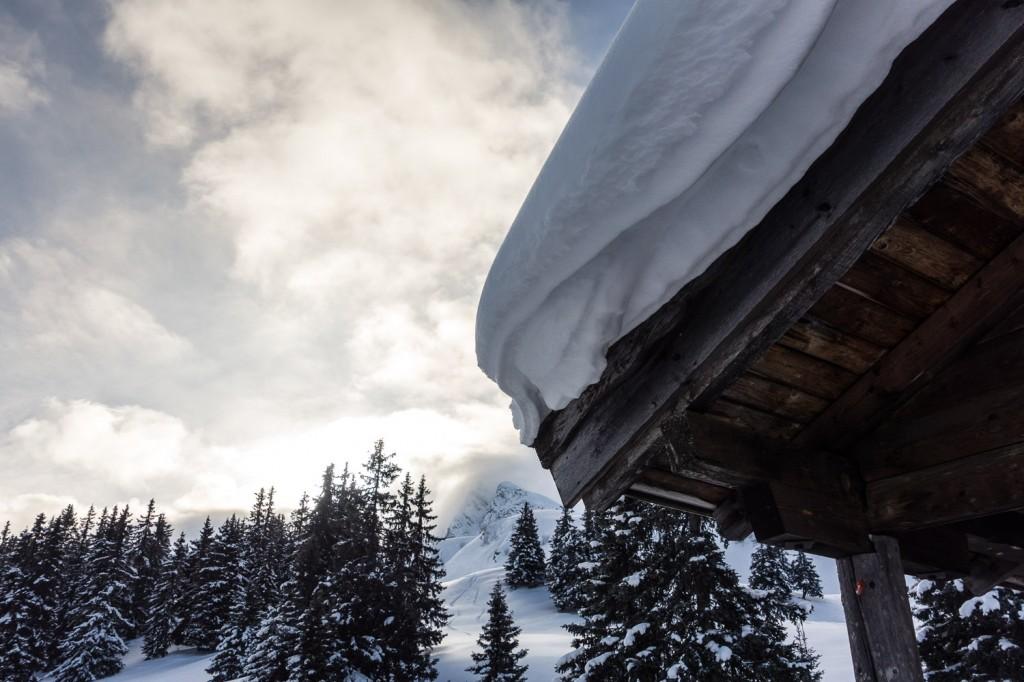Kalcheralm am Jaufenpass in Südtirol