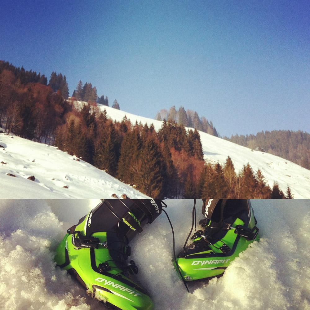 Skitour zum Siplingerkopf, also fast