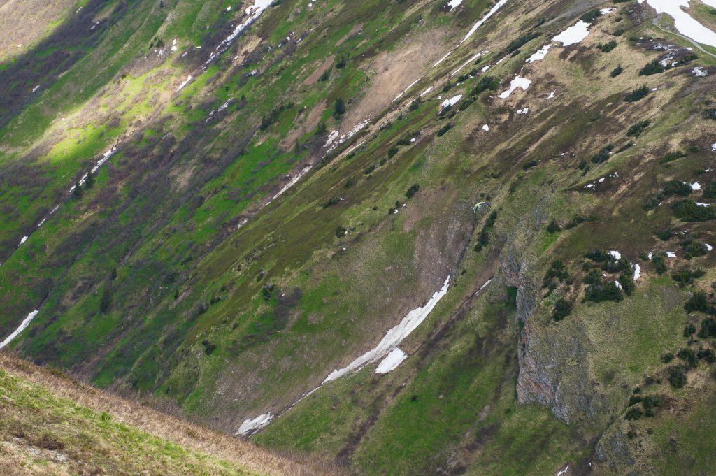 Suchspiel – finde den Gleitschirmflieger