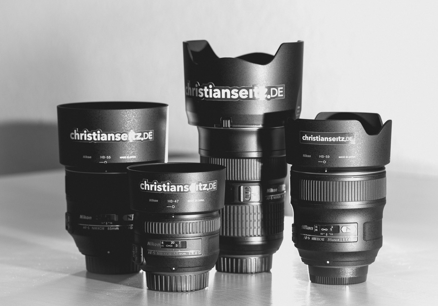 Label your lenses