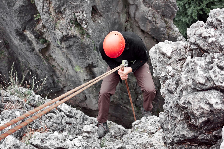 Kletterkurs im Frankenjura