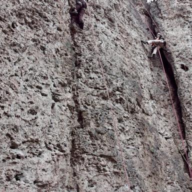 Klettern in der R3 am Weißenstein