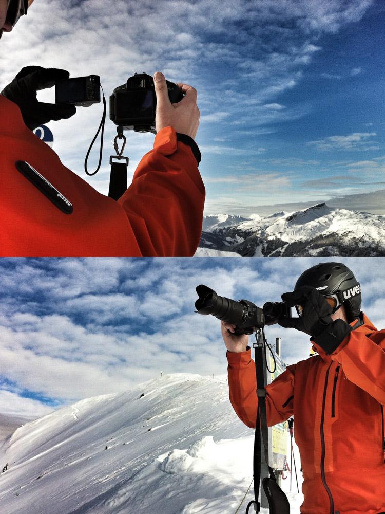 Kameravergleich am Fellhorn