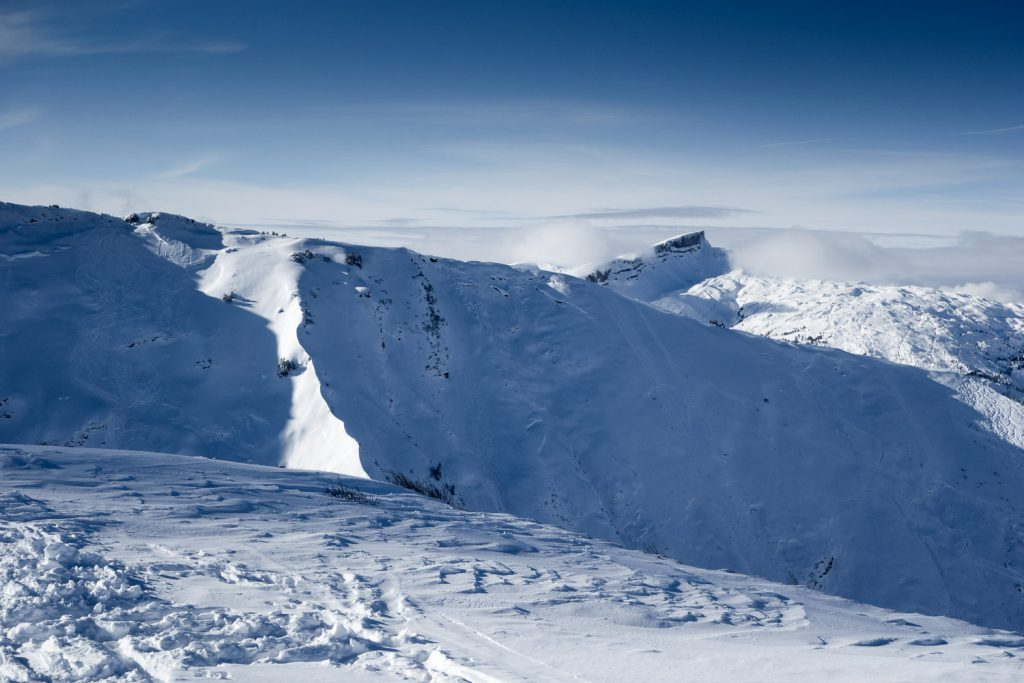 An der Gipfelstation vom Fellhorn