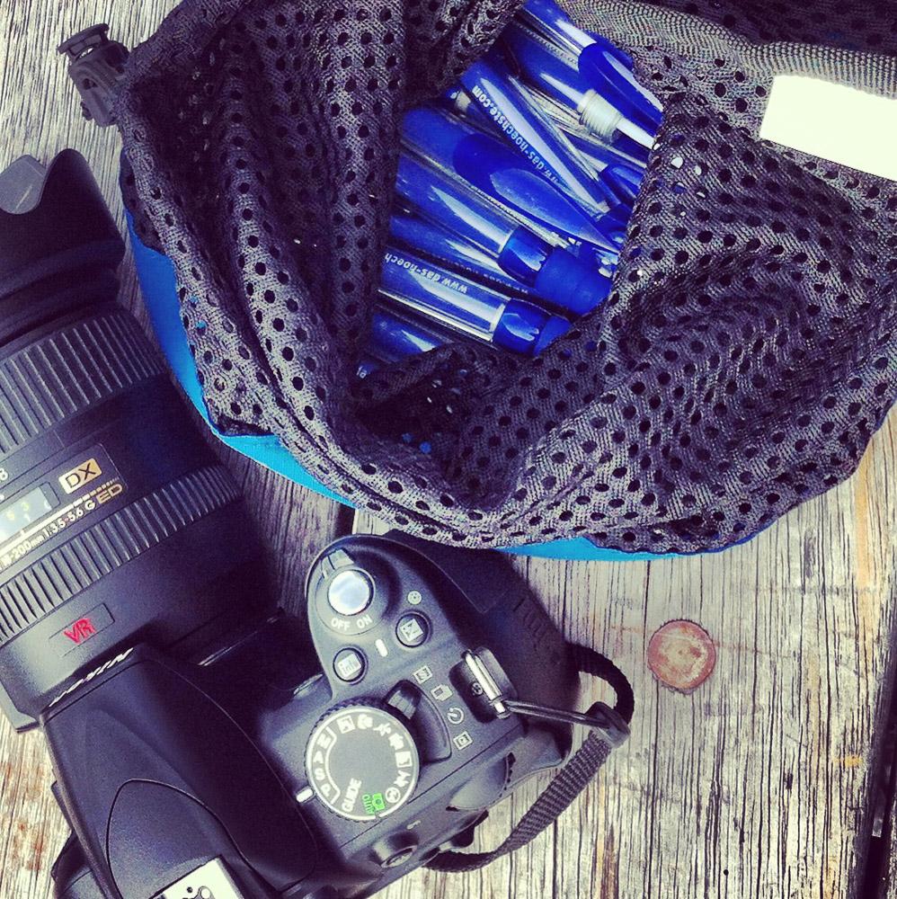 Vorbereitung für die Gruppenfoto-Challenge