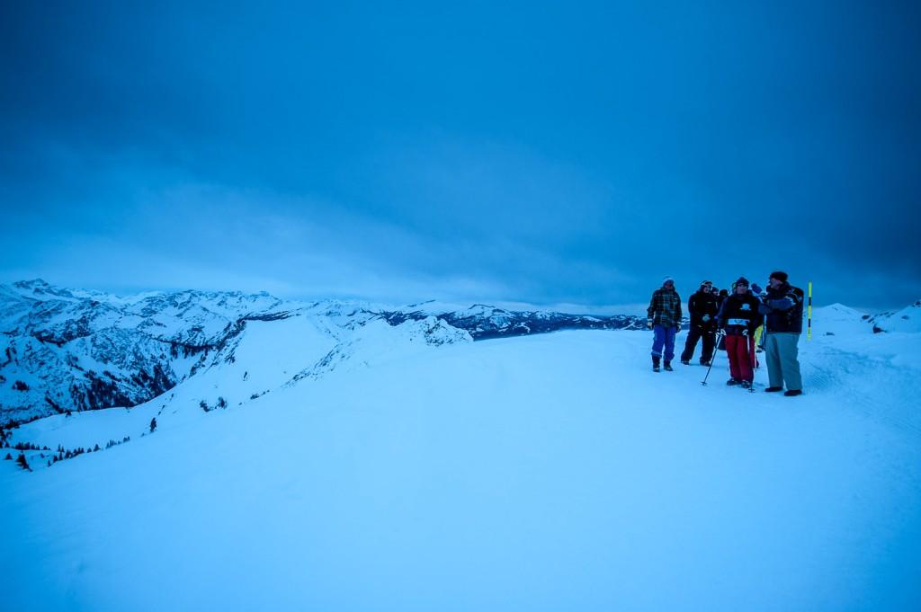 Bergscouts am Zeigersattel