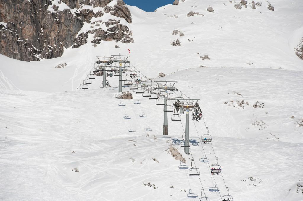 Koblat-Lift am Nebelhorn –bei tiptop Sonnenschein