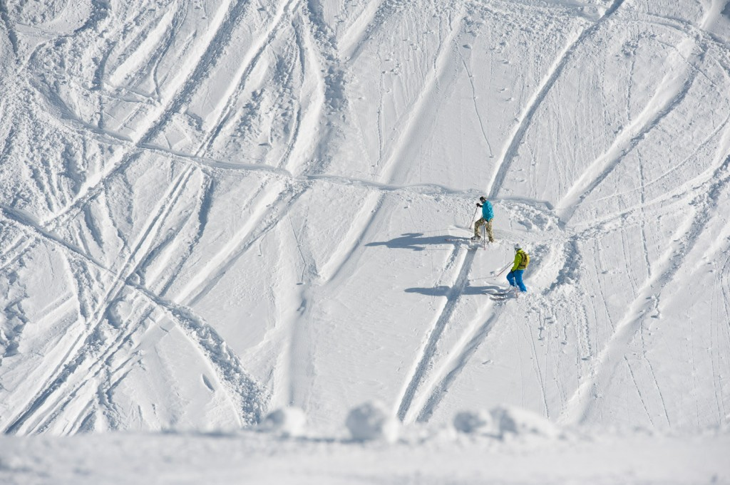 Freeriden am Nebelhorn
