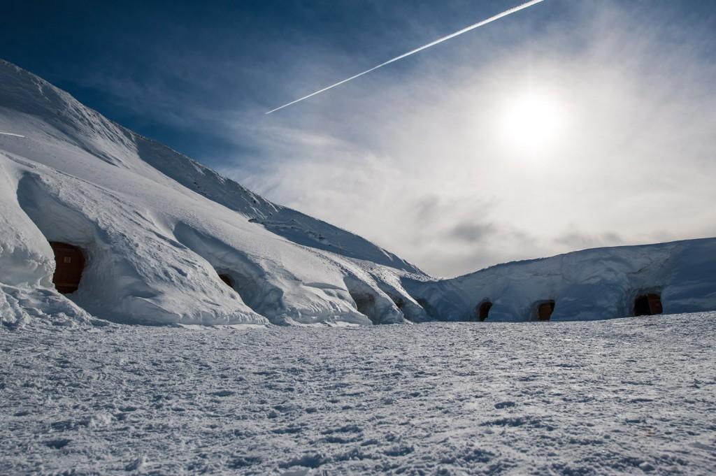 Die Iglu-Lodge am Nebelhorn