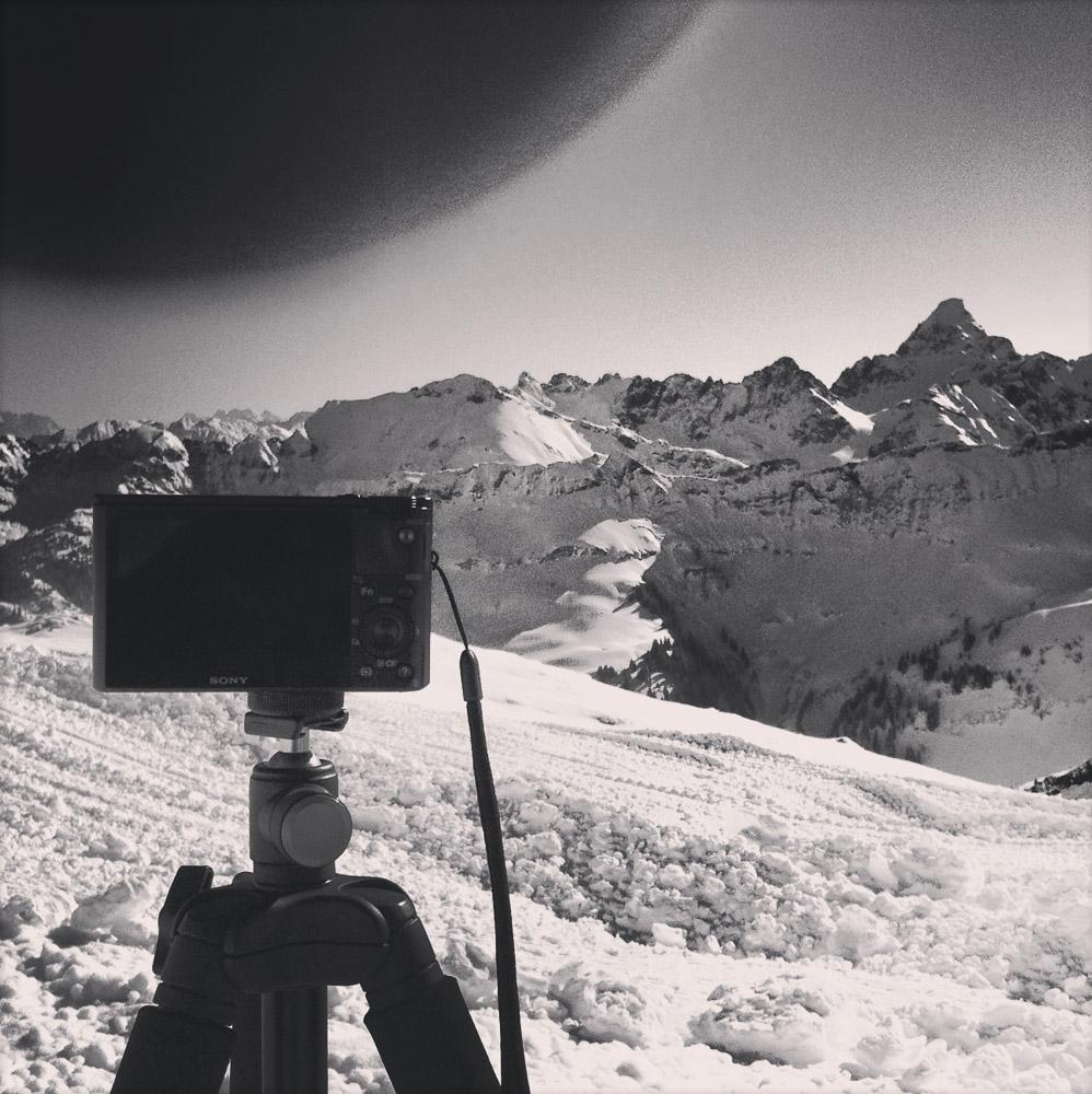 Fotografie am Nebelhorn