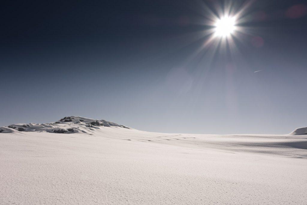 Sonnenschein am Nebelhorn
